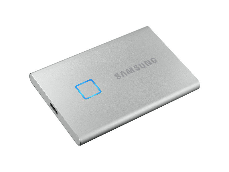 Samsung Portable SSD T7 TOUCH USB 3.2 1TB (Silver)