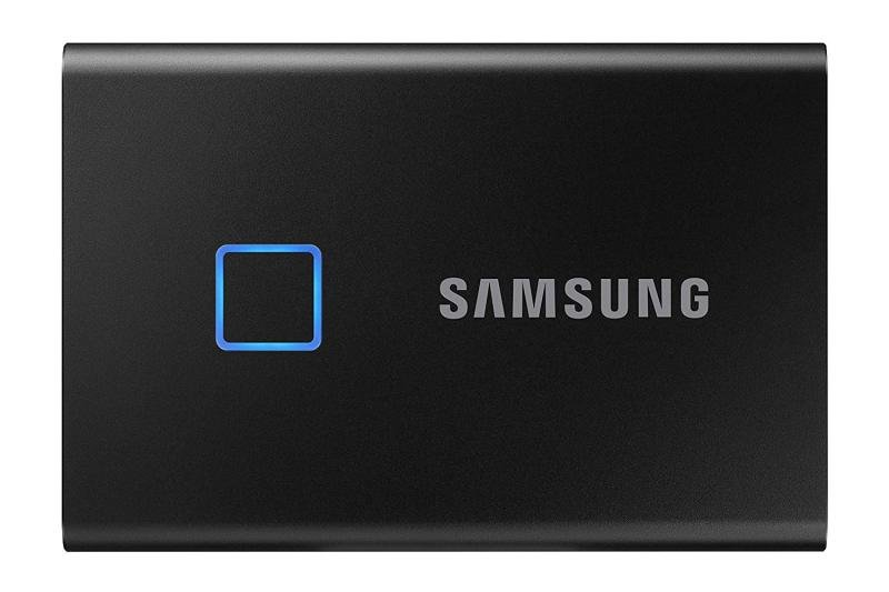 Samsung Portable SSD T7 TOUCH USB 3.2 500GB (Black)