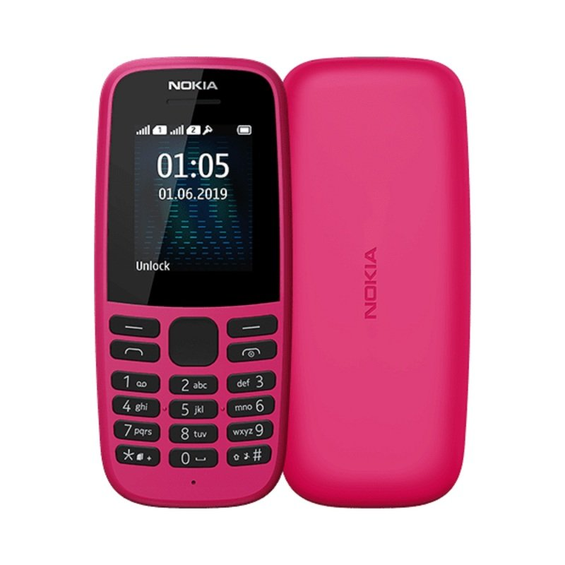 Nokia 105 4MB Mobile Phone - Pink