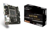 Biostar X470 NH AM4 DDR4 mITX Motherboard