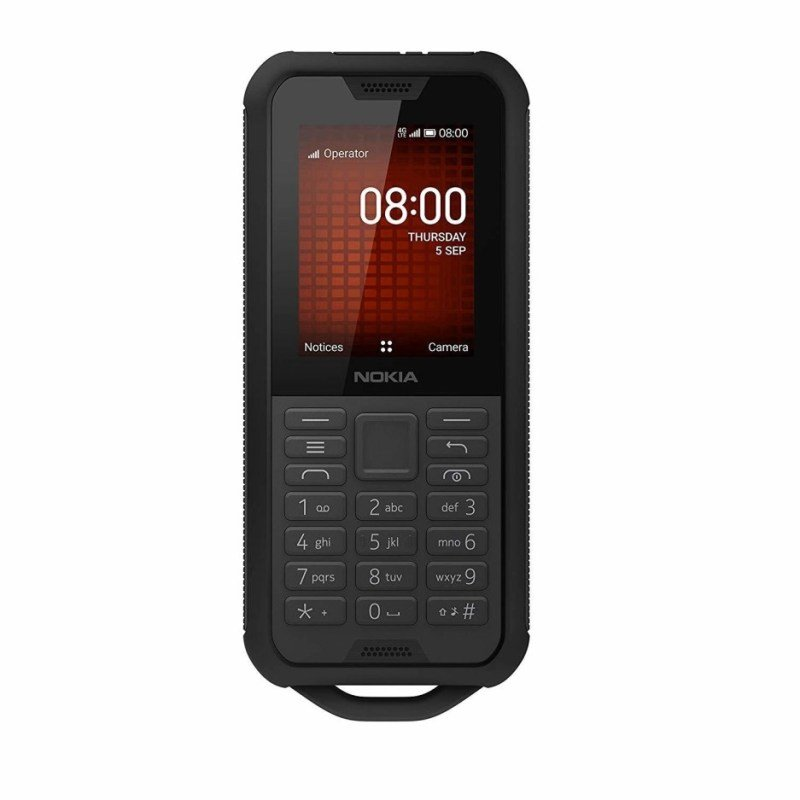 Nokia 800 Tough 4GB Mobile Phone - Black
