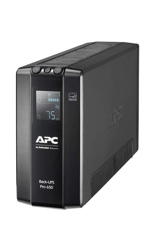 APC Back-UPS Pro BR650MI - Line-Interactive UPS - 650 VA/390W - 6 x IEC 60320 C13