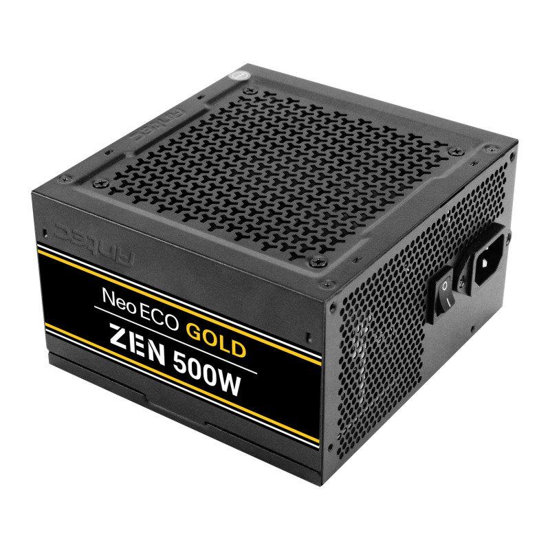 Antec NE500G ZEN 500 Watt Fully Wired 80+ Gold PSU/Power Supply