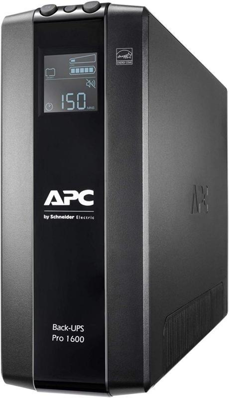 APC Back-UPS Pro BR1600MI - Line-Interactive UPS - 1600VA/960W - 8 x IEC 60320 C13