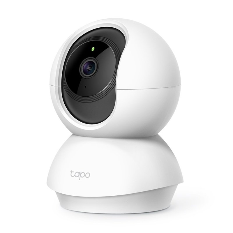 TP-Link Tapo C200 Pan Tilt 1080p Indoor Security Camera with Night Vision - Works with Alexa & Google Home + Free 32GB MicroSD