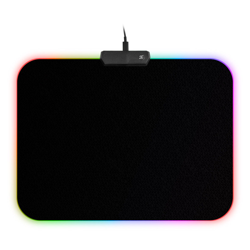 Image of EG Soft Rubber RGB LED Backlit Mouse Mat (Small)