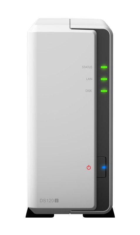 Synology DS120j 1 Bay Desktop NAS Enclosure