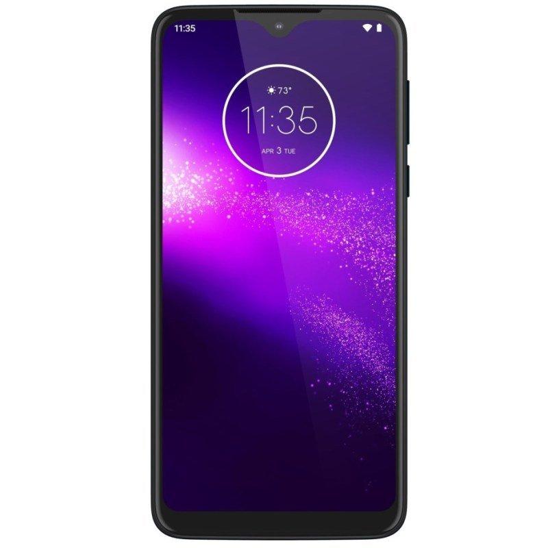 Motorola One Macro 64GB Smartphone - Space Blue