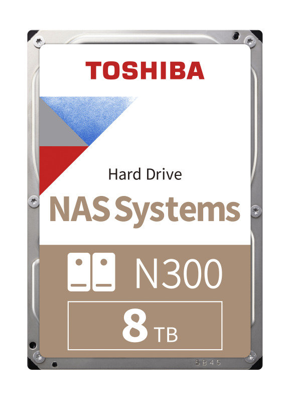 Image of Toshiba N300 8TB High-Reliability NAS Hard Drive