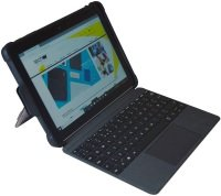 """Techair Black Rugged Cover for Microsoft Surface Go 10"""""""