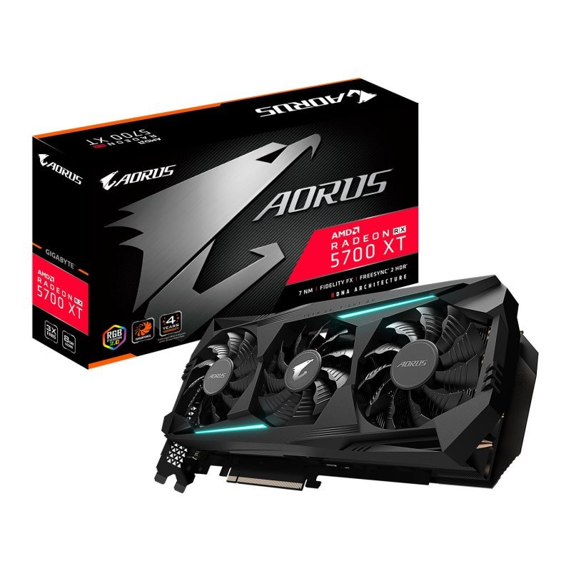 Gigabyte Radeon RX 5700 XT AORUS 8GB Graphics Card