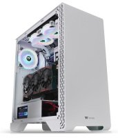 ThermalTake S300 Snow Edition Mid Tower Windowed PC Gaming Case