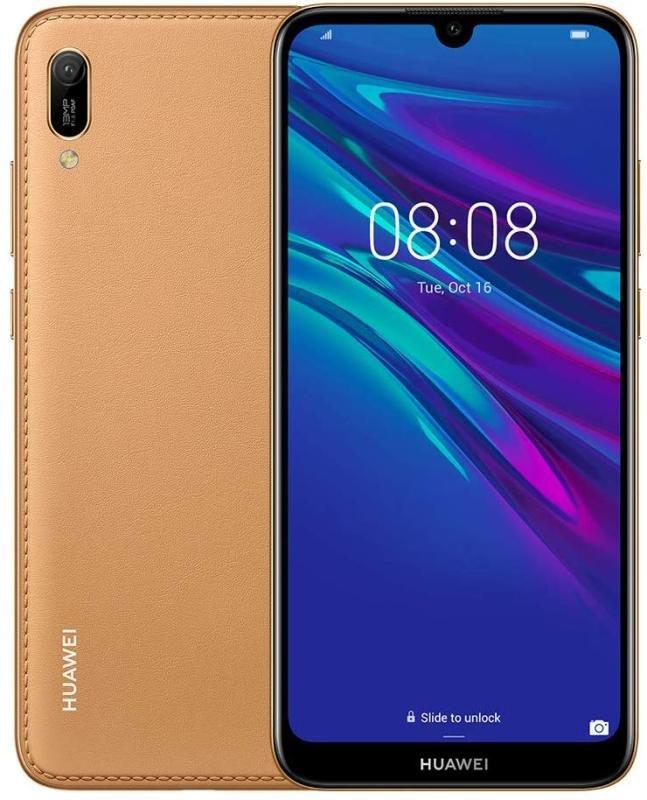Huawei Y6 32GB Smartphone - Amber Brown