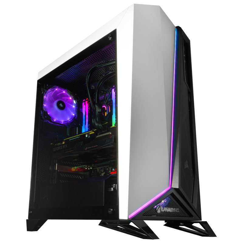 AlphaSync Core i9 10th Gen 64GB RAM 4TB HDD 1TB SSD RTX 2080Ti Gaming Desktop PC