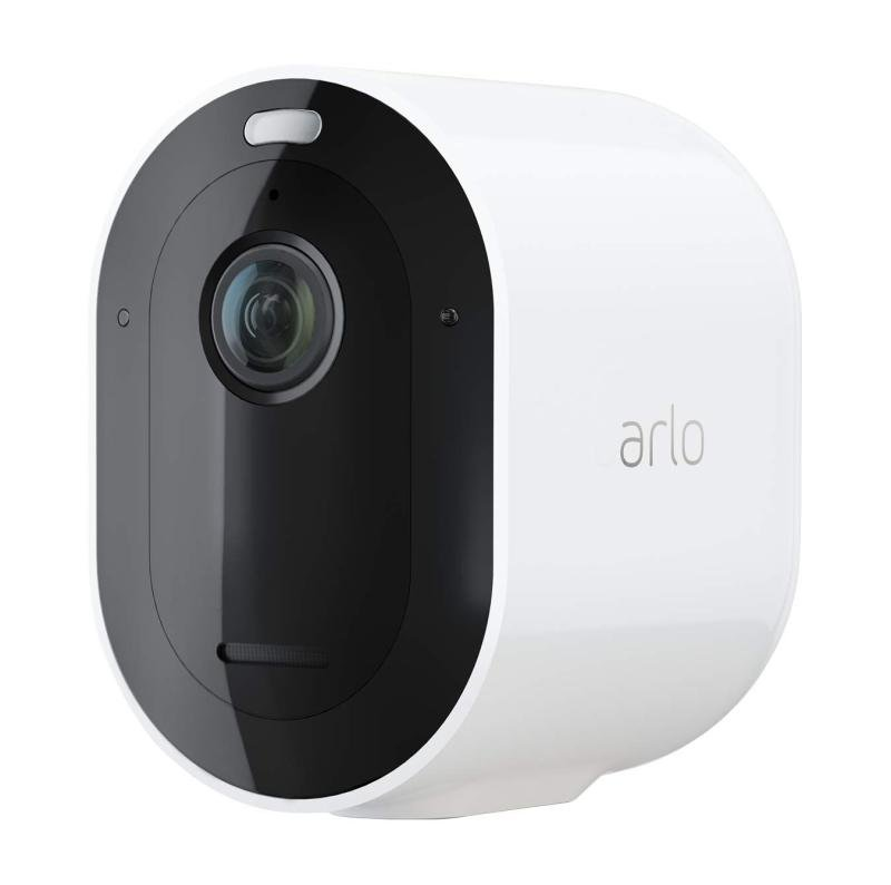 Arlo Pro3 Smart Home Security Cameras | Alarm | Rechargeable | Colour Night Vision | Indoor/Outdoor | 2K QHD | 2-Way Audio | Spotlight | Add on camera - SmartHub needed | VMC4040P