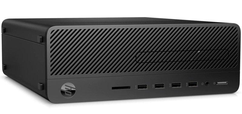 Image of HP 290 G2 SFF Desktop PC, Intel Core i3-9100 3.6GHz, 8GB DDR4, 256GB SSD, DVDRW, Intel UHD, Windows 10 Pro