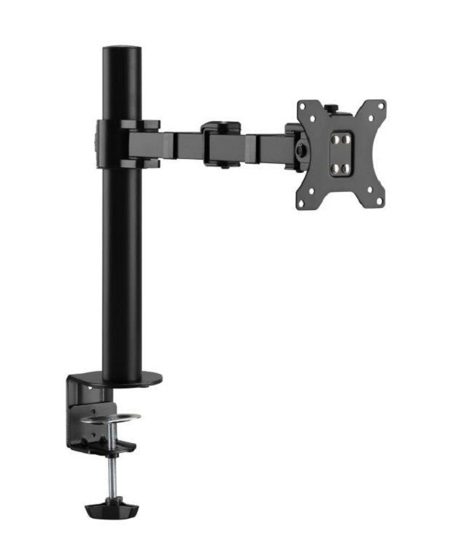 "Xenta Single Steel Swivel and Height Adjustable Monitor Arm for 17-32"" Screens"