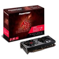 PowerColor Radeon RX 5600 XT 14GBPS 6GB Red Dragon Graphics Card