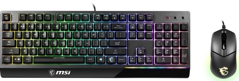 MSI Vigor GK30 COMBO Gaming Keyboard and Mouse