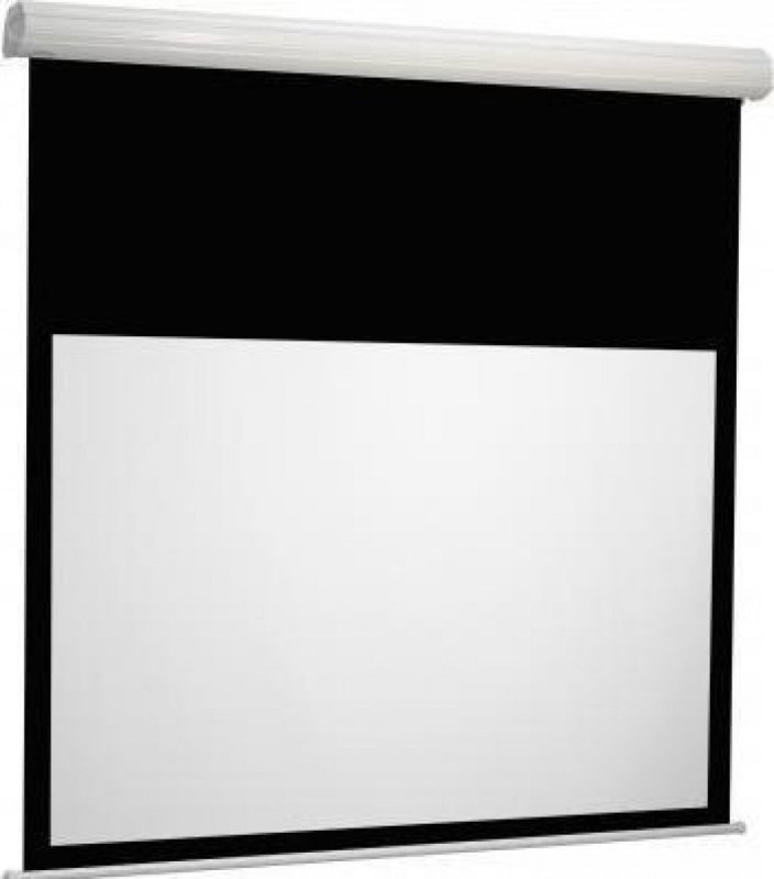 Image of Euroscreen Diplomat Manual Pull Down Projection Screen 230cm x 144cm