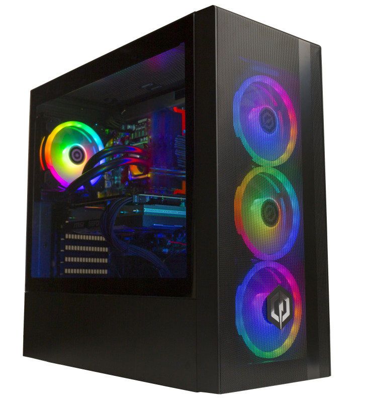 Image of Cyberpower Gaming Desktop PC, Intel Core i7-9700K 3.60GHz, 16GB DDR4, 2TB HDD, 240GB SSD, NVidia RTX 2070 Super, Windows 10 Home, 3 Year Warranty