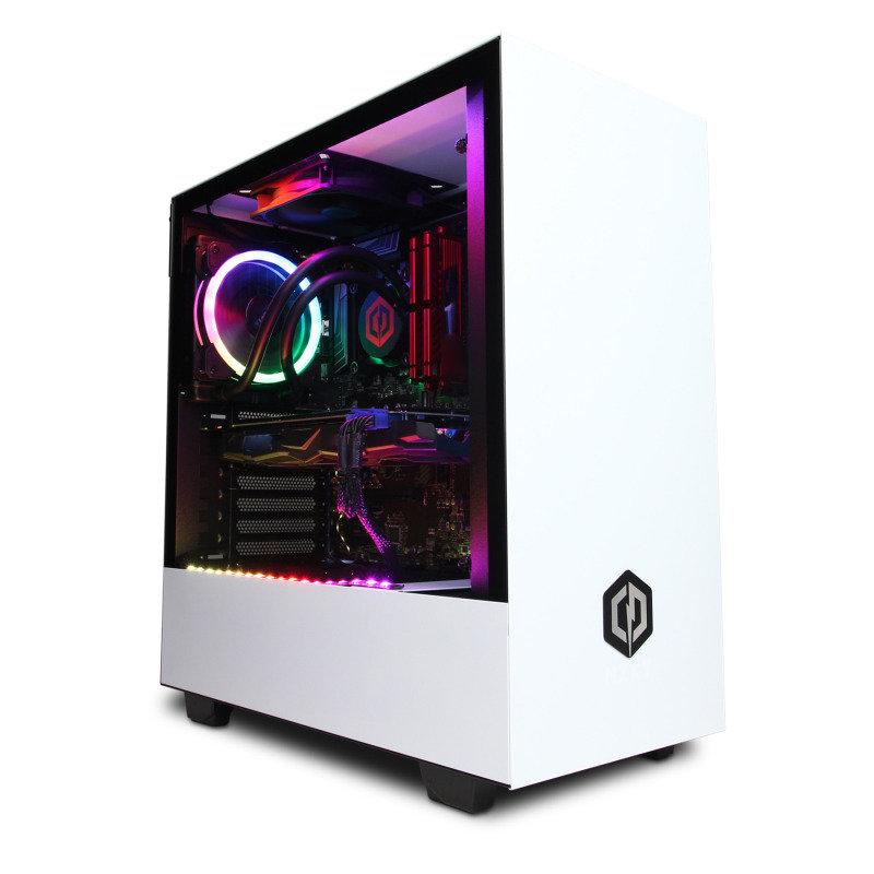 Image of Cyberpower Gaming Desktop PC, Intel Core i7-9700K 3.60GHz, 16GB DDR4, 2TB HDD, 240GB SSD, NVidia RTX 2080 Super, Windows 10 Home, 3 Year Warranty