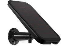 Arlo VMA4600 Pro and Arlo Go Wire-Free Cameras (Official) Solar Panel, Black
