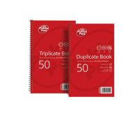 Pukka Pads Wirebound Triplicate Book 210x130mm - 5 Pk