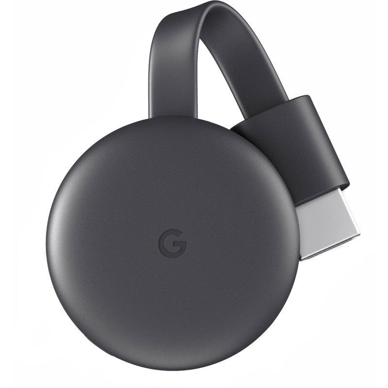 Image of Google Chromecast - Third Generation Charcoal