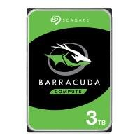 "Seagate BarraCuda 3TB Desktop Hard Drive 3.5"" 5400RPM 256MB Cache"