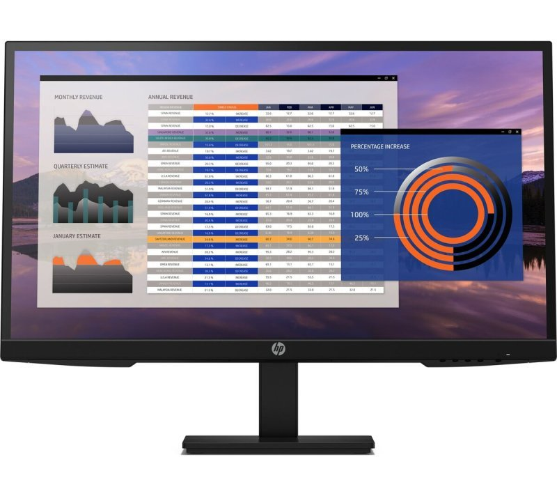 Image of HP P27h G4 27'' Full HD LED Monitor
