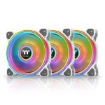 Thermaltake Riing Quad 14 RGB 3 Pack White Edition - NeonMaker