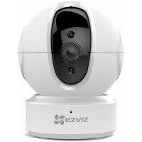 EZVIZ C6CN Pan/Tilt Indoor Camera - Works with Alexa and Google Assistant