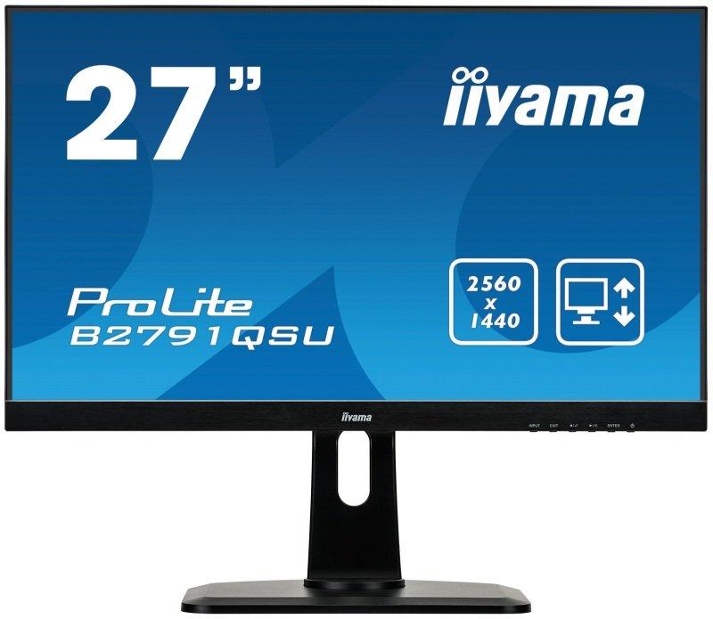 """Iiyama B2791QSU-B1 27"""" HD Monitor"""