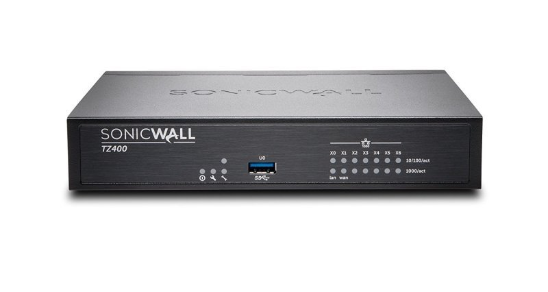 SONICWALL TZ400 SECURE UPGRADE PLUS 2YR