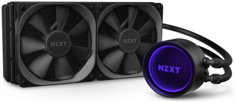 NZXT Kraken X53 RGB All In One 240mm Intel/AMD CPU Water Cooler