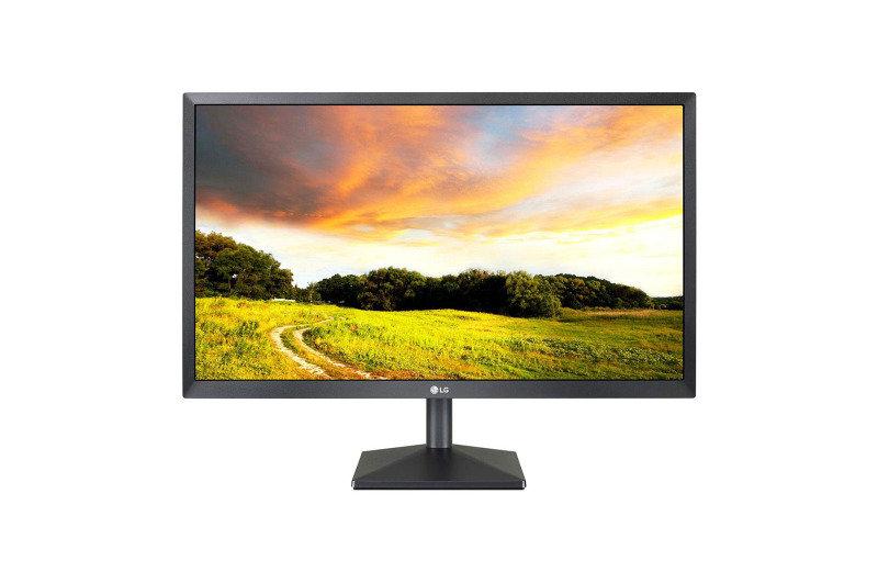 Image of LG 24MK400H-B 24'' Full HD TN Monitor, 75Hz, 1ms, VGA, HDMI, AMD FreeSync