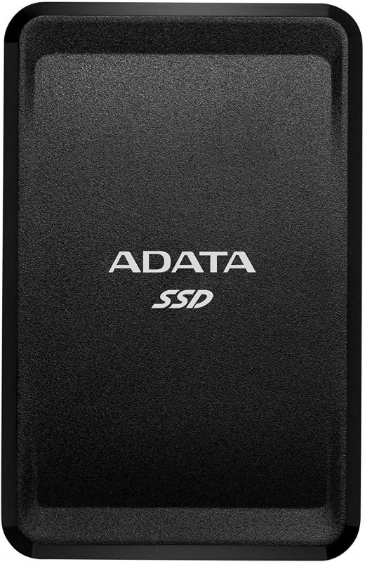 Image of ADATA SC685 250GB External SSD USB-C 3D NAND Windows/Mac/Android Compatible, Black