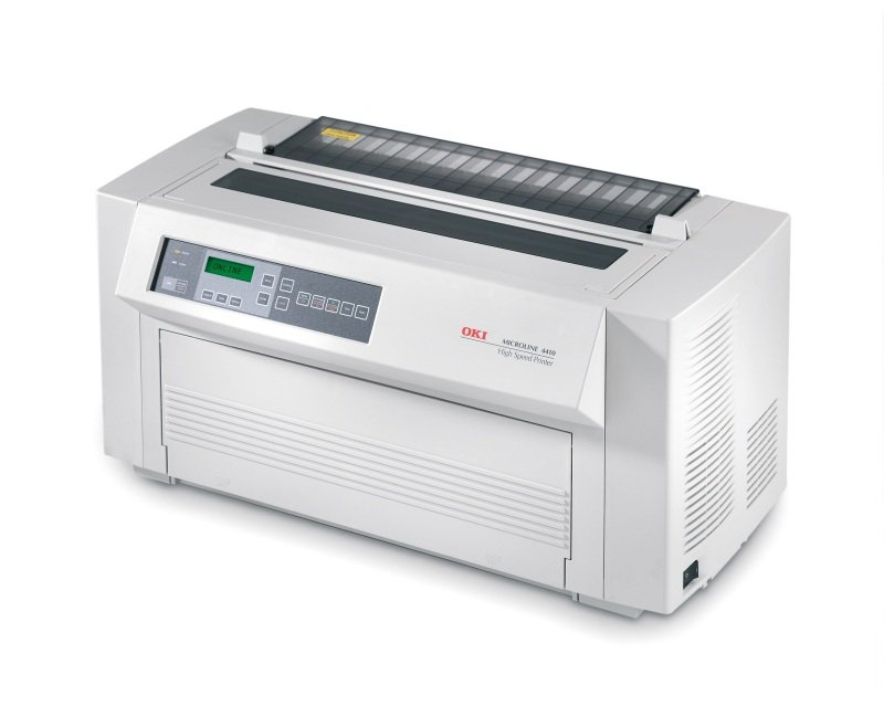 Image of OKI Microline 4410 - Printer - monochrome - dot-matrix - Super A3/B, Tabloid Extra (305 x 457 mm) - 288 x 144 dpi - 18 pin - up to 1066 char/sec - parallel, serial