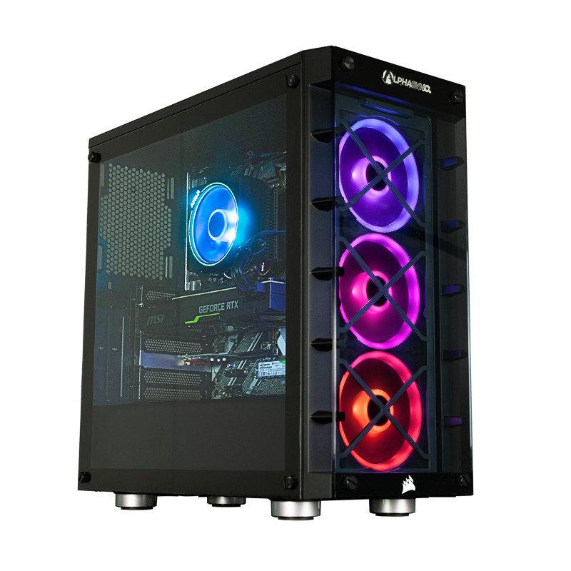 AlphaSync Ryzen 9 16GB RAM 2TB HDD 512GB SSD RTX 2080 Gaming Desktop PC