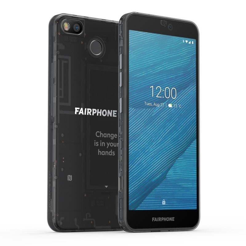 Image of Fairphone 3 64GB Smartphone - Black