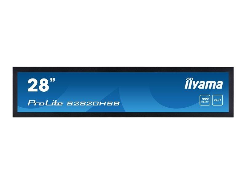 "IIYAMA 28"" S2820HSB-B1 Stretched Display"