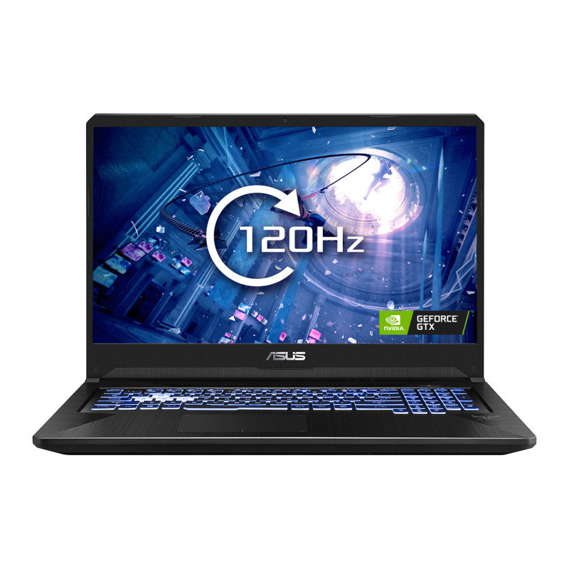 "ASUS TUF Gaming FX705DT  Ryzen 5 8GB 512GB SSD GTX 1650 17.3"" Win10 Home Gaming Laptop"