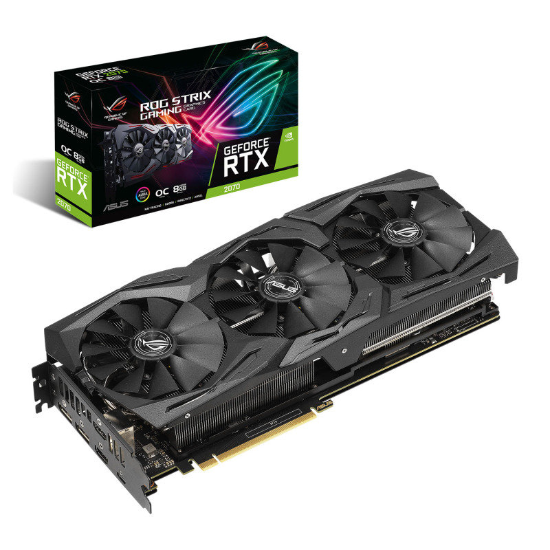 Asus ROG STRIX GeForce RTX 2070 OC 8GB Graphics Card