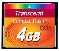 Transcend 4GB 133x Compact Flash Card