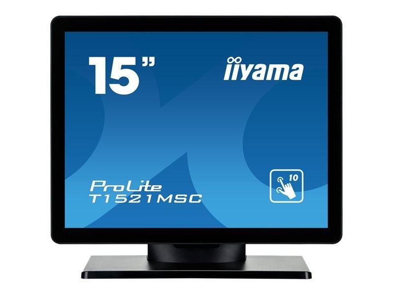 iiyama ProLite T1521MSC-B1 15'' LED Monitor