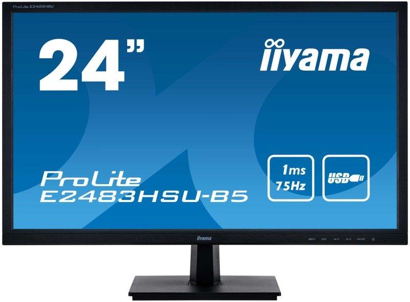 "Iiyama ProLite E2483HSU-B5 24"" Full HD 1ms Monitor"