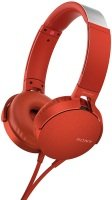 Sony MDR-XB550AP Extrabass Headphones - Red