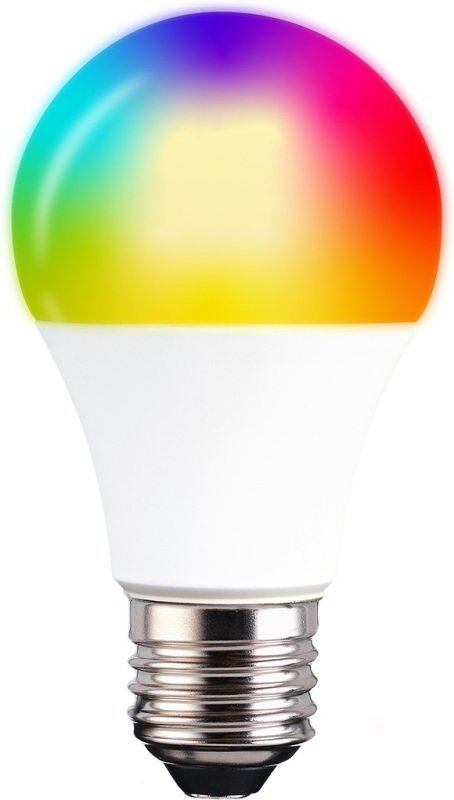 TCP Smart Wi-Fi Dimmable RGBW LED Lightbulb (E27) - Works with Alexa and Google Assistant