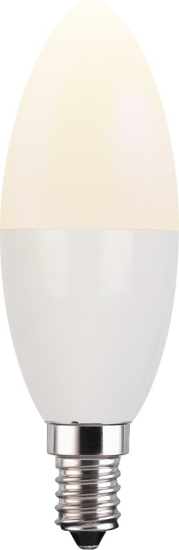 TCP Smart WiFi White E14 Candle Bulb - Works with Alexa and Google Assistant